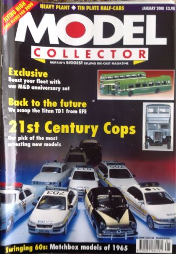 ORIGINAL MODEL COLLECTOR MAGAZINE January 2000
